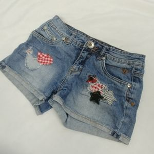 3/$15 - Justice Distressed Shorts